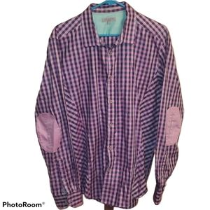 Ted Baker Checked Button Down Shirt